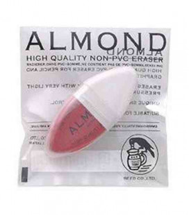 ?Seed Eraser Almond - High-quality eraser for pencil and ink (without PVC)- imported from Japan
