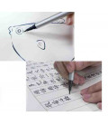 SAI ThinLINE Extra Fine Brush Pen 5 earth-tone colors