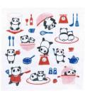 Paño de cocina Kurochiku (Kyoto)- Modelo: Kitchen panda